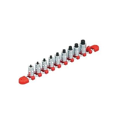 KTC (京都機械工具) 9.5mm (3/8インチ) ショートヘキサゴン ビットソケット セット 9個組 TBT3S09H