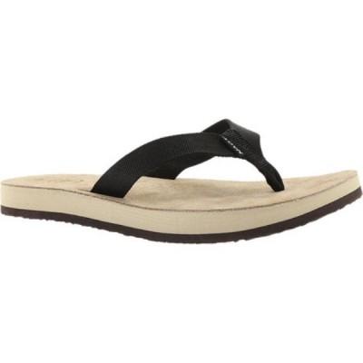 ナオト Naot レディース ビーチサンダル シューズ・靴 Island Flip Flop Black Polypropylene
