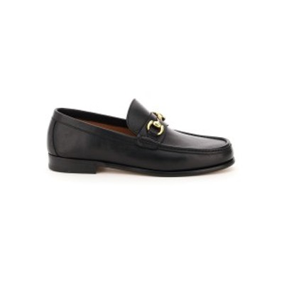 HENDERSON/ヘンダーソン Black Henderson orfeo leather loafers メンズ 春夏2021 OREFO P 1 ik