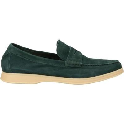 アンドレア ヴェントゥーラ ANDREA VENTURA FIRENZE メンズ ローファー シューズ・靴 loafers Green