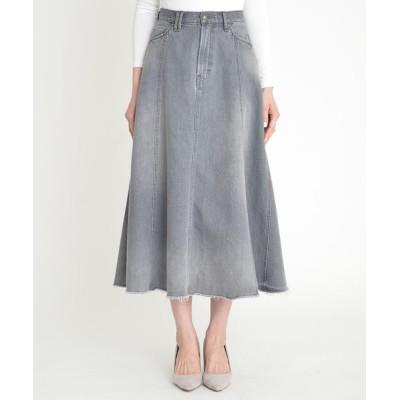 Divinique / フレア デニムスカート WOMEN スカート > デニムスカート