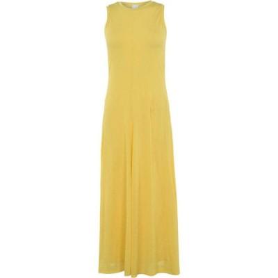 ヒューゴ ボス BOSS レディース パーティードレス マキシ丈 ワンピース・ドレス Dufina Maxi Dress Yellow