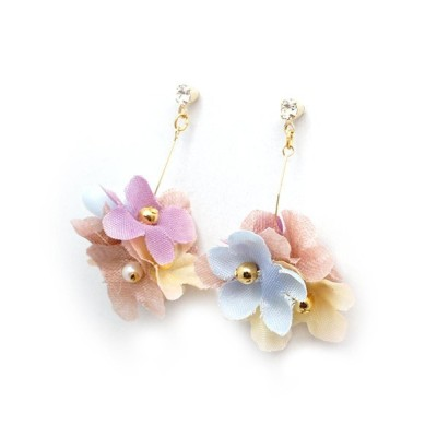 RiNc / 【zoule】falling flower WOMEN アクセサリー > ピアス(両耳用)