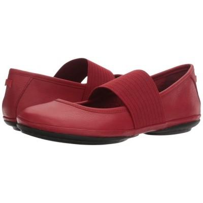 カンペール Camper レディース スリッポン・フラット シューズ・靴 Right Nina - 21595 Medium Red Leather