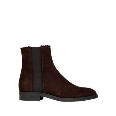 SEE BY CHLO ショートブーツ ファッション  レディースファッション  レディースシューズ  ブーツ  その他ブーツ ダークブラウン