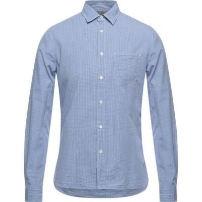 ウールリッチ WOOLRICH メンズ シャツ トップス Checked Shirt Blue