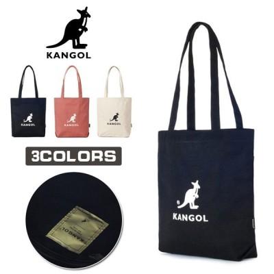 KANGOL カンゴール ショルダーバッグ トートバッグ レディース トート ショルダー キャンバス バッグ3色 通勤