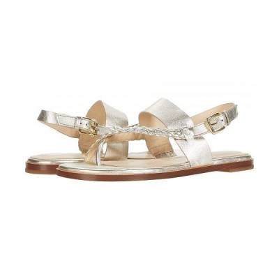 Cole Haan コールハーン レディース 女性用 シューズ 靴 サンダル G.OS Anica Thong Sandal - Gold Metallic Leather