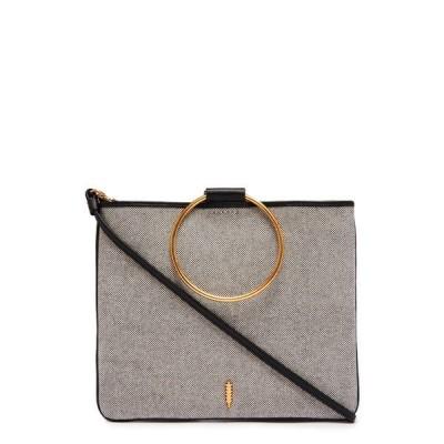 タッカー レディース ショルダーバッグ バッグ Le Pouch Crossbody Bag BLACK/IVORY