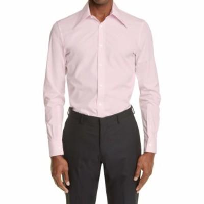 アレキサンダー マックイーン ALEXANDER MCQUEEN メンズ シャツ トップス Classic Button-Up Shirt Light Pink
