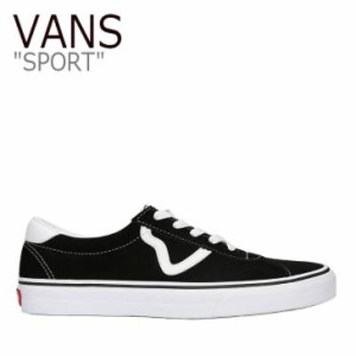 バンズ スニーカー VANS メンズ レディース SPORT スポーツ BLACK ブラック VN0A4BU6A6O シューズ