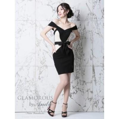 GLAMOROUS ドレス GMS-V473 ワンピース ミニドレス Andy グラマラスドレス クラブ キャバ ドレス パーティードレス