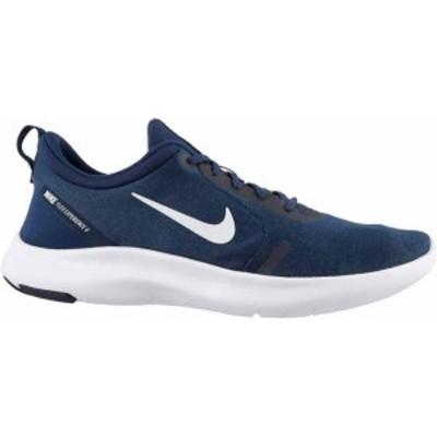 ナイキ メンズ スニーカー シューズ Nike Men's Flex Experience RN 8 Running Shoes Navy/White