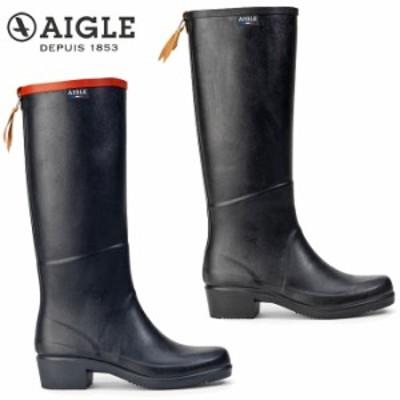 【レディース】エーグル AIGLE ミスジュリエットA2 ラバーブーツ ZZF8888 長靴 レインブーツ チェルシーブーツ 防水 天然ゴム