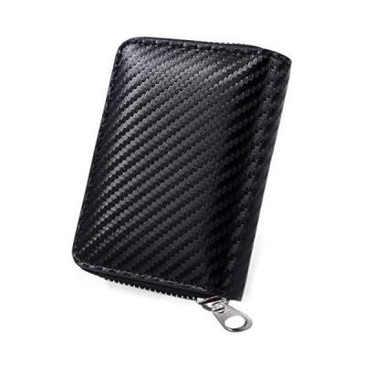 [ヴィオゴッタ]VIOGOTTA カードケース メンズ 小銭入れ コインケース スキミング防止 財布 小さい ウォレット (ブラック)