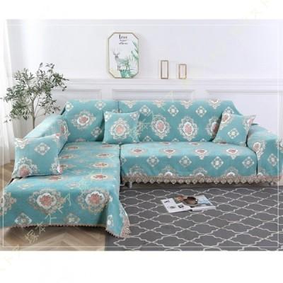 北欧 ブランケット 多機能 ソファーのカバー ラグ テーブルクロス テーブル掛け枚 バスマット 毛布 ソファカバー 花柄 ベッドカバー かわいい テーブル