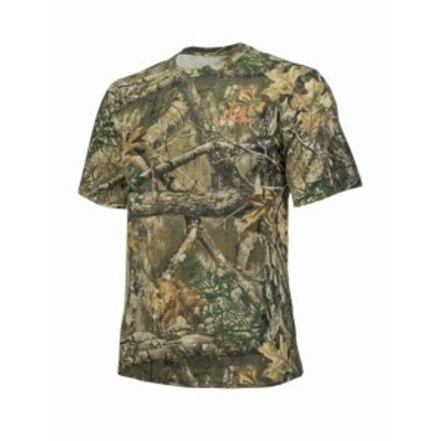 hyde ハイド ファッション トップス Realtree Edge Camo Short Sleeve Cotton Crew Neck by Hyde Gear Breathable Ou...