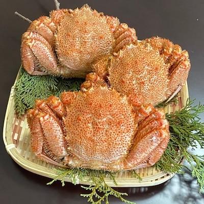 北海道産上若毛蟹 3尾セット 1尾250300g 小小サイズ ボイル毛がに 冷凍 毛ガニ 蟹 かに