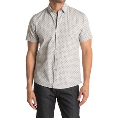 ピーターワース メンズ シャツ トップス Spender Button Front Pattern Shirt NAVY