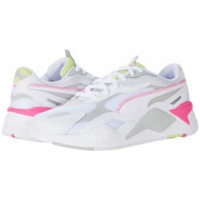 PUMA プーマ メンズ 男性用 シューズ 靴 スニーカー 運動靴 RS-X3 Millenium Puma White/Gray Violet/Sharp Green【送料無料】