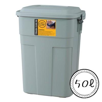 ゴミ箱 ダストボックス トラッシュカン 50L グリーン LFS-936GR