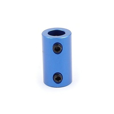 uxcell カプラージョイント アルミ合金製ジョイント コネクター 電気玩具 ブルー DIY
