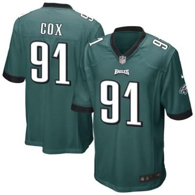 ナイキ メンズ Tシャツ トップス Fletcher Cox Philadelphia Eagles Nike Team Game Jersey