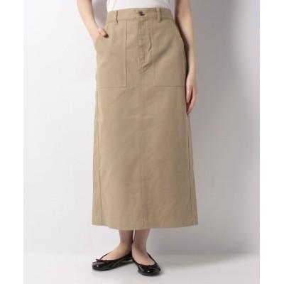 【メラン クルージュ】 アウトポケットタイトスカート レディース ベージュ F Melan Cleuge