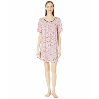 ケイト スペード ナイトウェア アンダーウェア レディース Evergreen Sleepshirt Scattered Dot Pink