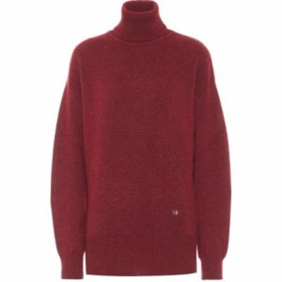 ヴィクトリア ベッカム Victoria Beckham レディース ニット・セーター トップス Cashmere Turtleneck Sweater Bordeaux/Mint
