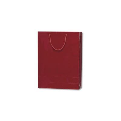 紙袋 プレゼント用 光沢  手提げ HEIKO シモジマブライトバッグ G2エンジ(10枚入)