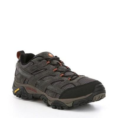メレル メンズ スニーカー シューズ Men's Moab 2 Waterproof Suede and Mesh Sneakers