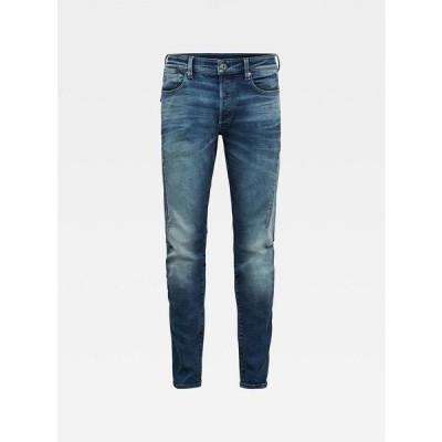 ジースター デニムパンツ ボトムス メンズ Men's Citishield 3D Slim Tapered Jeans Clear