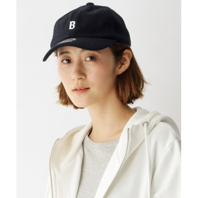 BASESTATION / 【ユニセックス】B刺繍 フェルトローキャップ33024 WOMEN 帽子 > キャップ