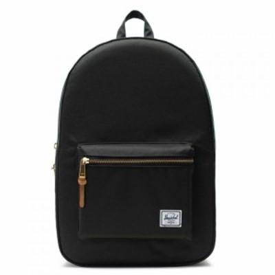 ハーシェル サプライ Herschel Supply Co ユニセックス バックパック・リュック バッグ settlement backpack Poly Black