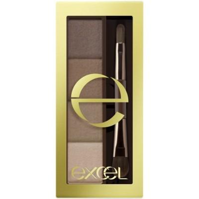 excel(エクセル) エクセル スタイリング パウダーアイブロウ SE01 ナチュラルブラウン