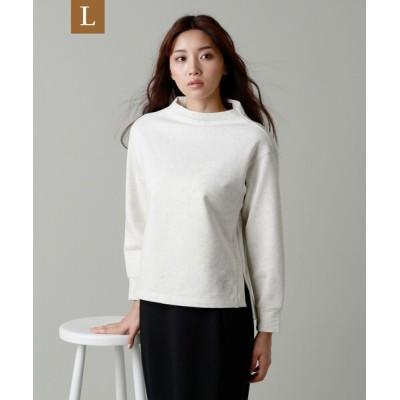 tシャツ Tシャツ 【L】*eclat掲載*ソフト裏毛ショートプルオーバー