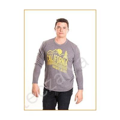 Alma Mater NCAA Men's Long Sleeve T-Shirt, California Golden Bears, Small並行輸入品
