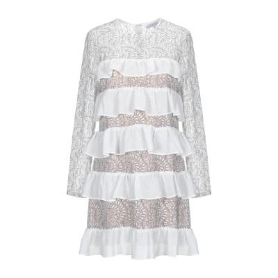 ENDLESS ROSE ミニワンピース&ドレス ホワイト M レーヨン 70% / ナイロン 30% ミニワンピース&ドレス