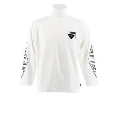 Tシャツ メンズ 長袖 RVS SMTCAMPV S18AW-POLER-005BOFW