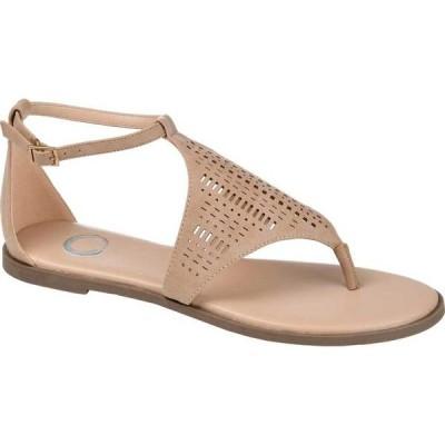 ジュルネ コレクション レディース サンダル シューズ Niobi Ankle Strap Thong Sandal