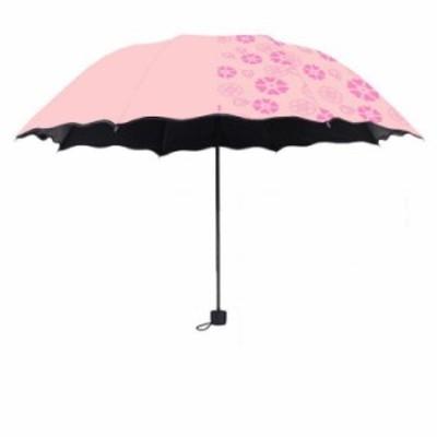 折りたたみ傘 傘 三段折り コンパクト 女性 フレア レディース 手動 おしゃれ かわいい 紫外線カット かさ UVカット