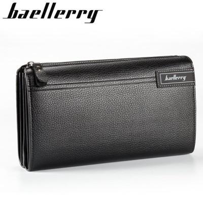 財布 メンズ 長財布 多層構造 大容量 カード入れ 携帯入れ ビジネスウォレット カジュアル フォーマル ブラック ブラウン 上質