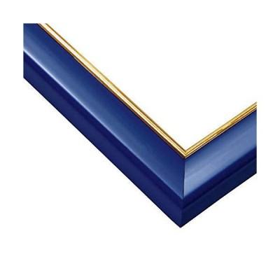 エポック社木製パズルフレームウッディーパネルエクセレントゴールドラインシャインブルー(18.2x25.7cm)(パネルNo.1-ボ)