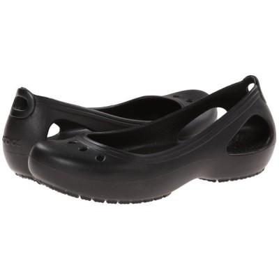 クロックス Crocs レディース スリッポン・フラット シューズ・靴 Kadee Black/Black