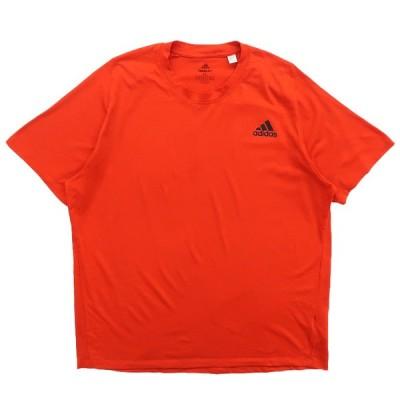 アディダス adidas ワンポイントTシャツ オレンジ サイズ表記:XL