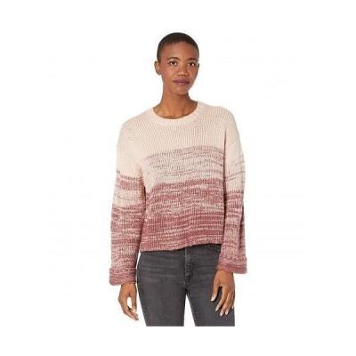 Carve Designs カーブデザイン レディース 女性用 ファッション セーター Estes Ombre Sweater - Brick Fade