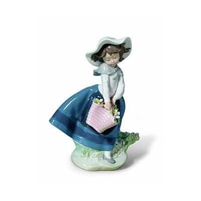リヤドロ LLADR? 人形 きれいな花ばかり 01005222