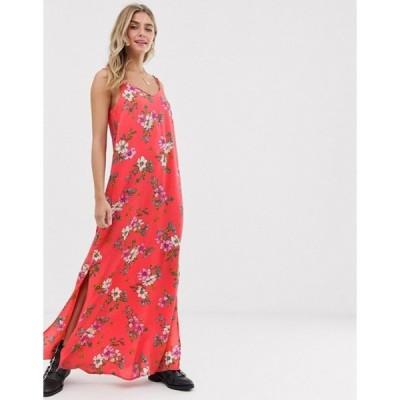 ジェイディーワイ レディース ワンピース トップス JDY cami maxi dress in floral print