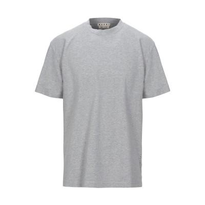 マルニ MARNI T シャツ グレー 46 コットン 100% T シャツ